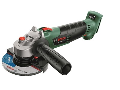 Angle grinder 125 mm bosch, battery, without battery